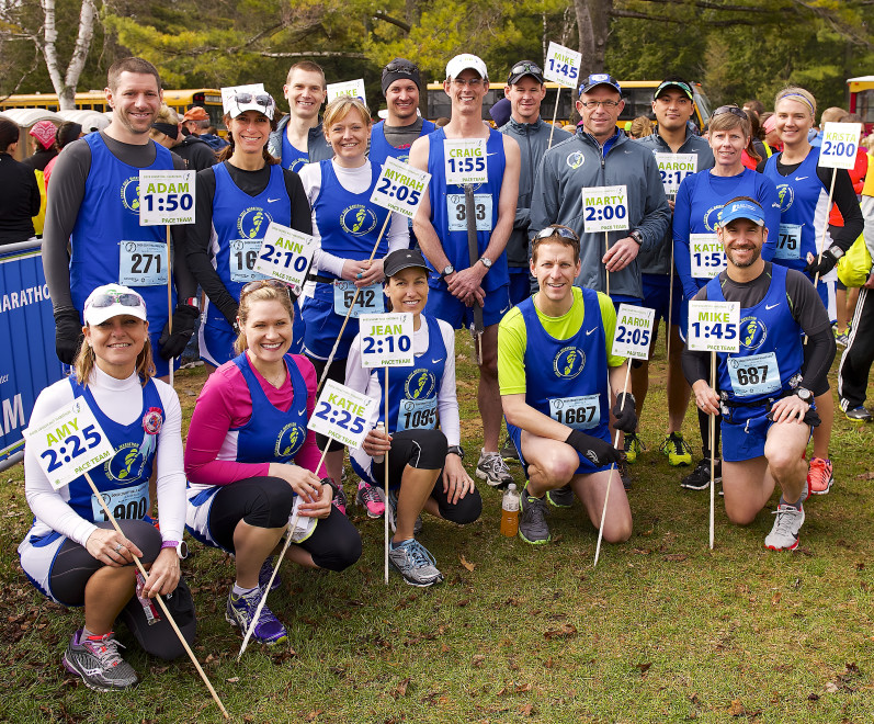 Attractive Ministry Door County Medical Center Pace Team. For Many Runners, Finding  Their Pacer Is Job One On Race Morning. Photo By Len Villano.
